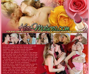 Kiss Matures - Young Girls Having Lesbian Sex With Mature Women
