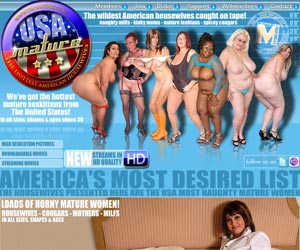 USA Mature - The wildest American housewives caught on tape