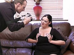BBW slut fucks a photographer