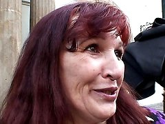 Seduction of a grandma for sex