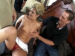 Alana Housewife Slurping a Cock