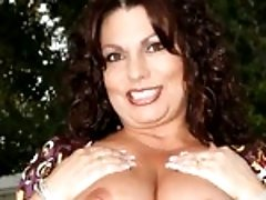 Carmeliata has an ass big enough to block the sun, which makes her perfect for taking on the big black cock!