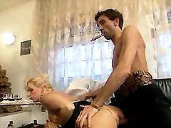 Kinky orgy with three titty experienced whores