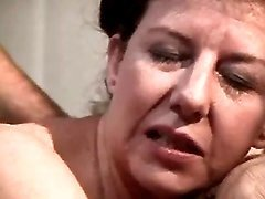 Horny old women in orgy