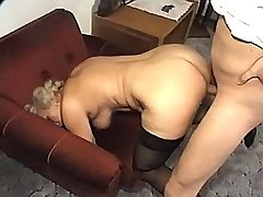 Granny does hot blowjob n has fuck in doggy style