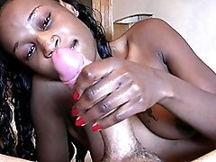 Ebony Prostitute Hotty Rides White Penis